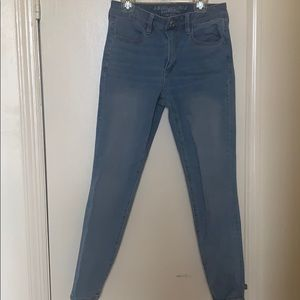 American Eagle Outfitters blue jeans